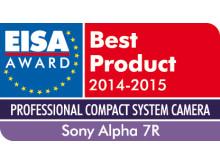 EISA Award 2014_Alpha 7R von Sony