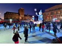 Leipziger Eistraum - Schlittschuhlaufen auf der größten runden Eisbahn Deutschlands