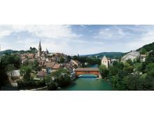 Baden: Blick auf die Altstadt mit Stadtkirche und Limmat © Schweiz Tourismus swiss-image.ch Christof Sonderegger