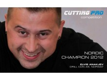 Elvis Anakiev Nordic Champion 2012 Cutting pro competetion