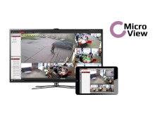 MicroView is an uncomplicated video surveillance concept for easy customisation