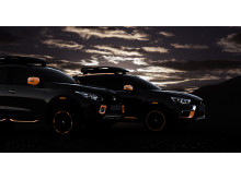 Mitsubishi L200 och ASX Show cars Genevé