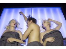 SKAM 2: Noora (Fanny Bornedal), William (Jonathan Stahlschmidt) & Marlin (Sofie Salée)
