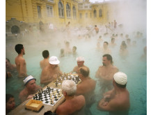Fotograaf Martin Parr ontvangt Outstanding Contribution to Photography Award tijdens Sony World Photography Awards 2017