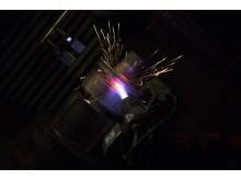 Termisk sprutning (High Velocity Air Fuel), produktionsteknik