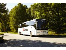 Swebus nya Mercedes-buss med supersurf