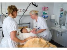 Undersköterskor på Universitetssjukhuset Örebro 2017