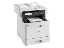 Brother MFC-L8900CDW tulostaa, kopio, skannaa ja faksaa väreissä. Tulostin toimii 9000 mustavalko- ja 6500 värisivun suurvärikaseteilla, jotka pitävät tulostuskustannukset alhaisina.