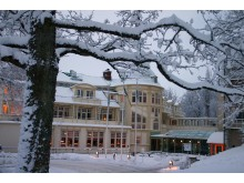 Kurorten Mösseberg vinter