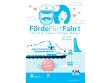Plakat FördeFlirtFahrt 2019