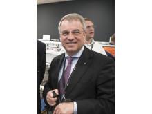 Alrik Danielson, vd för SKF, besökte invigningen av SII-Lab på Chalmers