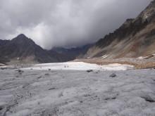 En av de glaciärer i Himalaya som undersökt av forskare från Luleå tekniska universitet.