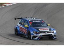 Fredrik Blomstedt, Kristoffersson Motorsport, Volkswagen Golf GTI.