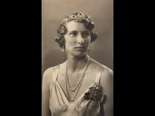 Hereditary Princess Caroline-Mathilde, 1944.
