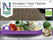 Groddar, Rädisa, Organic