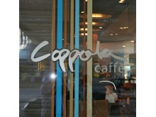 Fönsterdekor Coppola cafe