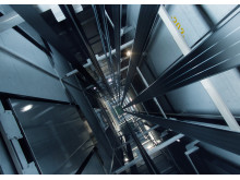 KONE-UltraRope-in-elevator-shaft-2