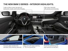 BMW 3-serie Sedan - highlights interiør