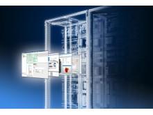 Med en VX25-konverteringsassistent til produktlister, fri adgang til data og en intelligent konfigurator, forenkler Rittal overgangen fra TS 8 til det nye gulvskab VX25.