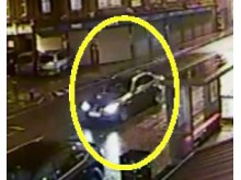 Image of car involved in collision