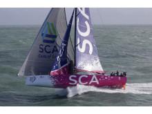Team SCA's båt