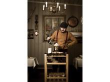 Kaffeservering på Agatons Restaurang & Bar, Ramundberget