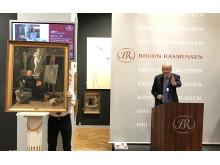 Jesper Bruun Rasmussen sælger Rørbyes portræt til 2,1 mio. kr.