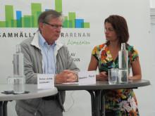 Andres Muld, Nationellt Renoveringscentrum och Anna Bellman, moderator