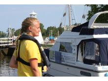 Pressbild - Göta kanal, slussvärd