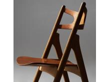 "HANS J WEGNER, stol ""CH 29 /Savbukkestolen"", Carl Hansen & Søn, Odense, Danmark."