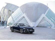 Audi A8 (Ciutat de les Arts i les Ciències i Valencia - byen for kunst og videnskab)