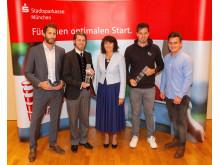 Gewinner des Münchner Gründerpreis 2018