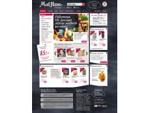 MatHem.se förstasida