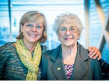 Ingrid Carlberg och Judith Weiszmann