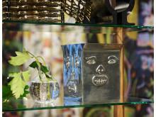 Detaljer från Svenskt Tenns pop-up-butik i Helsingfors.