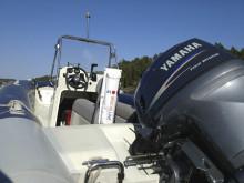 MOB säkerhetslina i motorbåt
