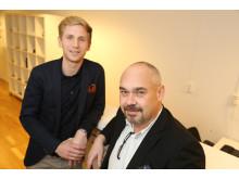 Tommy Eriksson, Ånge Kommun och Christian Söderberg, Åkroken Business Incubator