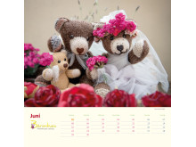 Mit Bärenherz durch das Jahr 2020 - Der neue Bärenherz-Kalender