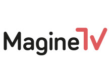 Magine TV Logo black