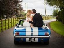Ford Mustang als Hochzeitsauto