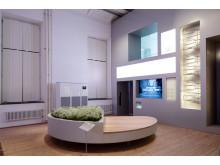 Public Luxury visar förslag på infartshinder. På bilden formgivaren Björn Dahlströms förslag.