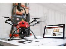 Linde Flybox samlar in data som lagras i ett lättanvänt system