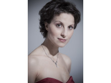Raffaella Milanesi, Soprano, sings the role of Sifare in Mitridate at Drottningholms Slottsteater 2014