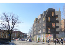 Förslag studentbostäder, KTH, Stockholm: Skanska och Rosenbergs