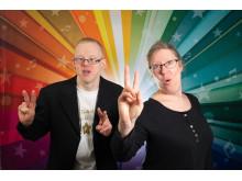 Henrik Roll och Jessica Engblom, Södertälje