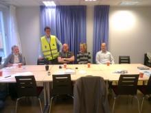 Frukostmöte Skotta säkert i Sundsvall den 27 september.