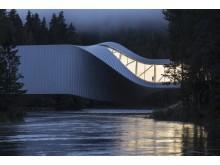 """Das neue Gebäude """"The Twist"""" im Kistefos Museum"""