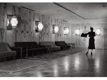 Hotell Malmen. Kerstin Bernhard (interiörbilder) - Georg Varhelyi, Carl-Axel Acking 1949-1952.