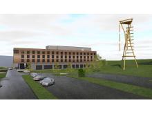 Brennemoen Hotell - Illustrasjonsfoto 2  Lorentz Kielland Arkitekter