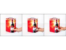 Lindeman's Bin 45 Cabernet Sauvignon BiB öppning 1-2-3